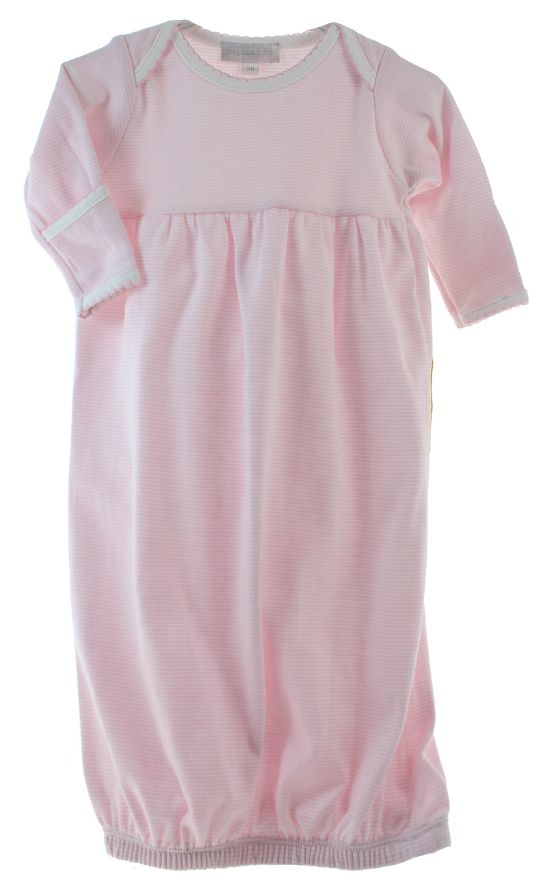 pink take home gown for girl