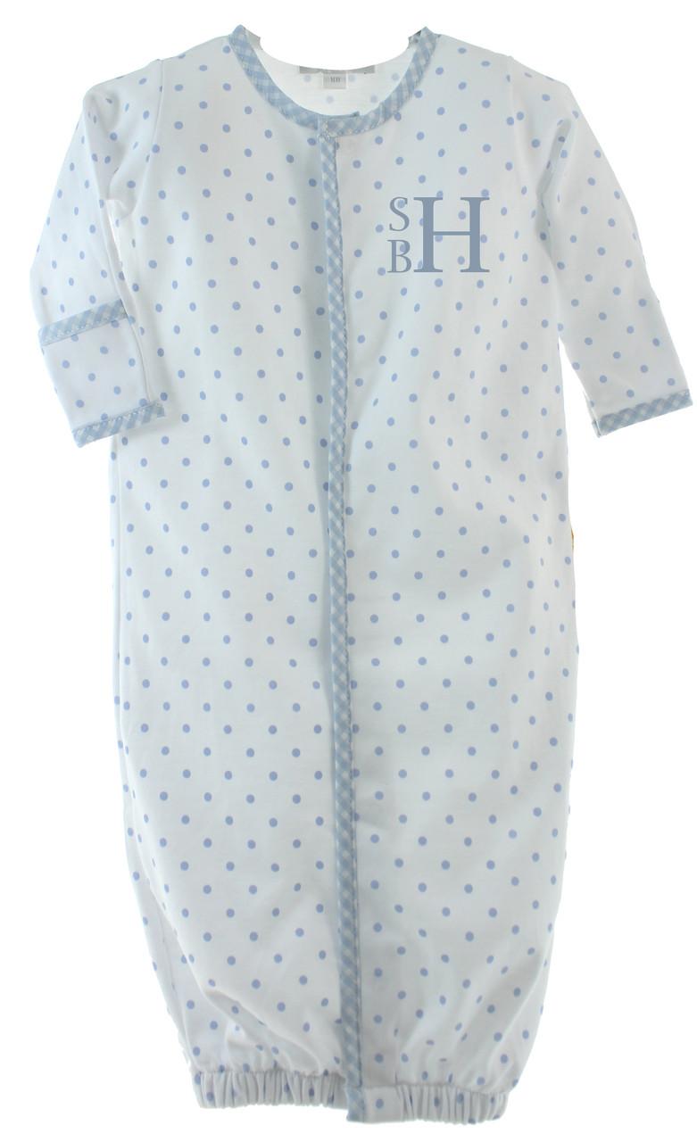 newborn boys convertible gown