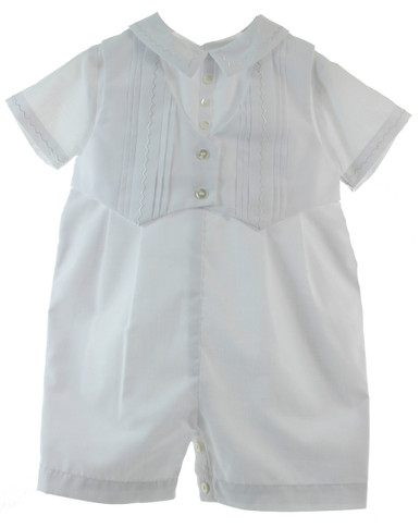 Boys Christening Outfit with Vest