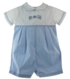 Boys Train Romper Outfit