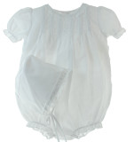 White Newborn Bubble outfit