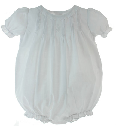 Girls White Bubble Outfit