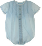Newborn Boys Bubble Outfit with Train