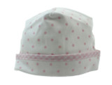 Magnolia Baby Newborn Girls Pink Dot Take Home Hat |