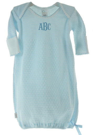 Personalized layette Gown for Boy