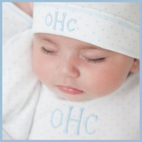 Personalised Boys Layette Magnolia Baby Mini Dots