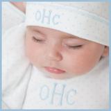 Personalised Boys Layette Magnolia Baby Mini Dots