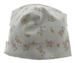 Magnolia Baby Girls Take Home Hat Pink & Green Floral Print