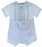 Feltman Brothers Baby Boys Bobbie Suit Blue