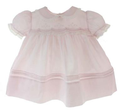 Newborn Girls Pink Take Home Dress Feltman Brothers