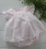 Newborn Girls Pink Diaper Set Take Home Outfit