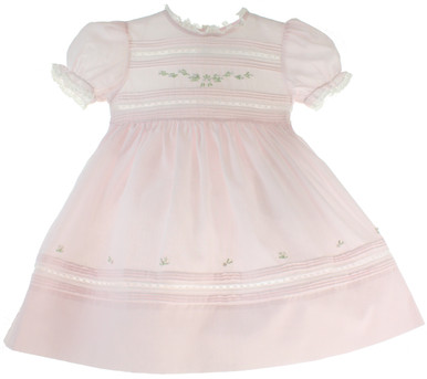 Feltman Brothers Pink Buillions Dress 27222