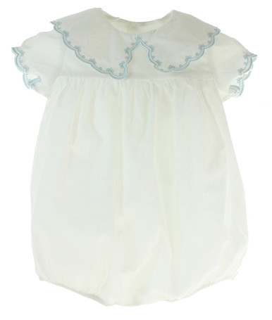 Newborn Boys Dressy Take Home Bubble Outfit