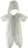 Boys Christening Romper Dylan Swea Pea Lilly
