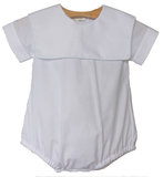 Boys Monogrammed Christening Outfit