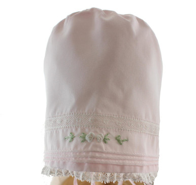Pink Buillons Baby Girls Bonnet Feltman