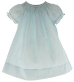 Baby Girls Pastel Blue Take Home Dress