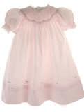 pink Smocked Portrait Dress - Feltman Brothers