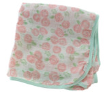 Paty Inc Rose Muslin Blanket
