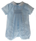 Infant Boys Blue Dedication Shortall