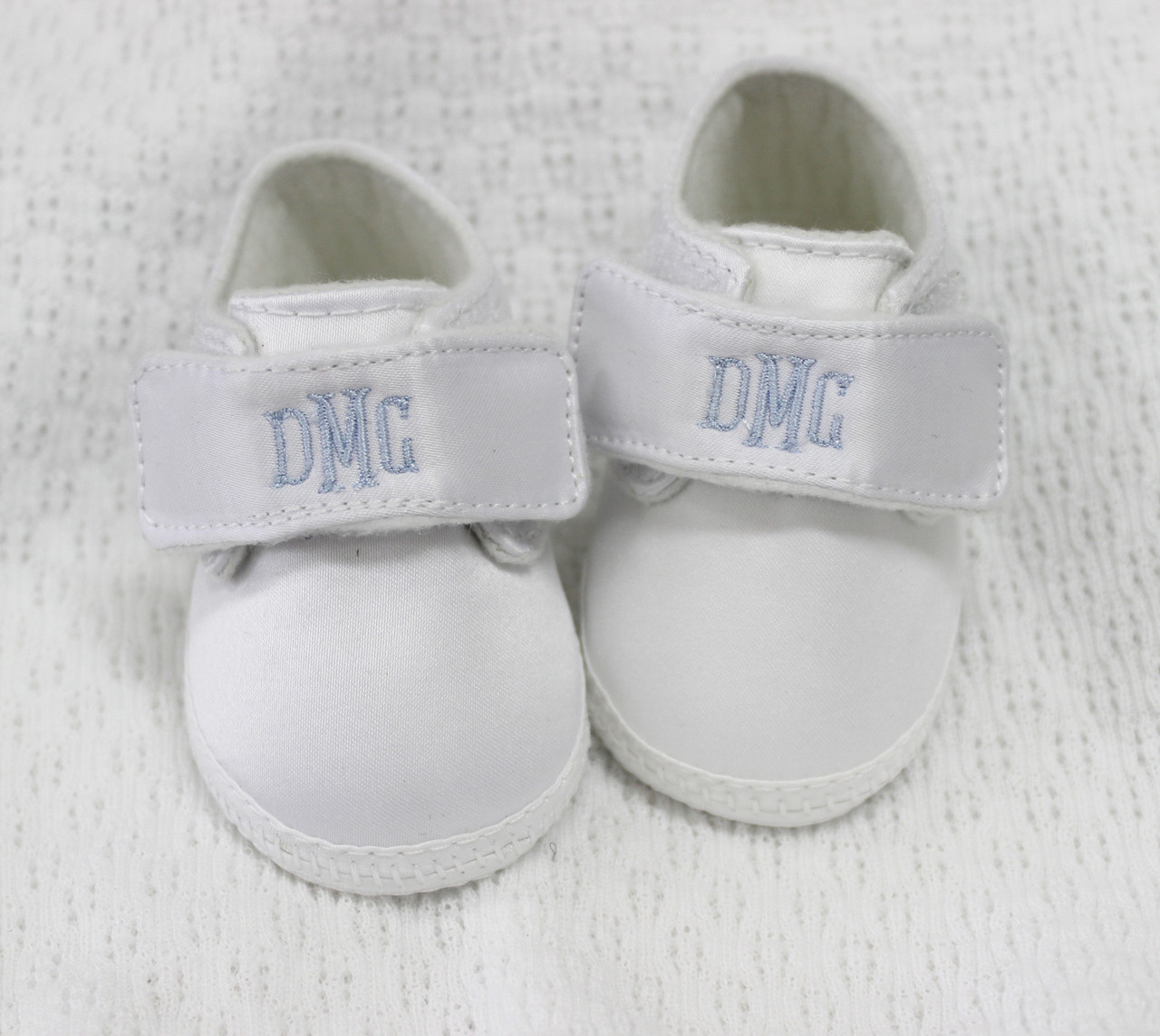 Baby Boys Monogrammable Crib Shoes. See 2 more pictures 88c67b0d28c7