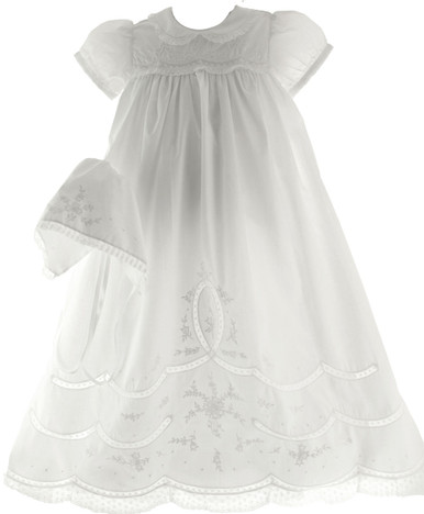 Girls Christening Gown Feltman Brothers 5978