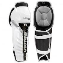 Bauer Nexus 400 Senior Hockey Shin Guards... Sizes available 16, 17... Price $ 49.99... Sale Price $ 34.99