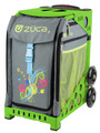 Zuca Insert Bag - Swirls Insert Color: Swirlz (Insert Only) Butterflies landing on bright swooshes of color. What does it mean? Let your imagination lead the way.  Color Gray with Colorful Swirls     Price $ 47.50     Zuca Frames Sold Separately