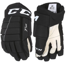 Beginner players are looking for gloves that will let them get a feel for the puck on every shot, pass and stickhandle without breaking the bank. The CCM Tacks 4R gloves provide a comfortable and free fit to help their hands get a great feel for the game. HIGHLIGHTS Open, Fixed Cuff Enhances Freedom of Movement Polyester Construction is Lightweight and Comfortable Single Density Foam Protects Back of Hands PE Regular Thumb Keeps You Protected Soft Nash Palm is Highly Durable