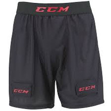 "The CCM RBZ 100 Hockey Jock Short is a simple, loose mesh jock that protects your vital areas while keeping you cool. The lightweight ventilated mesh construction allows good air circulation and the leg loops keep the cup in place during play. The mesh is integrated with moisture wicking and anti-odor features. Ergonomic molded cup included. Machine washable.  Model Number: JSR100 CCM Sizing Guidelines: Short Size / Waist Measurement YTH LG / 23"" - 24"" JR SM / 24"" - 26"" JR MD / 26"" - 28"" JR LG / 28"" - 30"" SR SM / 30"" - 34"" SR MD / 32"" - 36"" SR LG / 34"" - 38"" SR XL / 36"" - 40"" Sr XXL / 38"" - 42"""