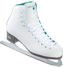 "Style: SKTR10 Skate made to fit Girls' sizes 9-3 Light support w/ double synthetic reinforcement Leather tongue reinforcement adds protection & strength PVC sole unit keeps feet dry Attached nickel plated blade gives a smooth edge Available in whole sizes & medium width only This skate is recommended for beginning & recreational skaters Boot support level: 20 - light Riedell sizes their skates for a snug & competitive fit The toe will be slightly touching the inside of the boot. If youwould like to have extra room in the skates please add 1/4"" to yourfoot measurement"
