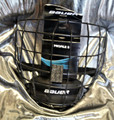 Bauer Profile II Facemask - I2 Cage Classic design profile with flat shape Enhanced visual areas with oval wire Dual-density floating chin cup w/ moisture channels CSA, HECC, CE certified Wire Color: I2 (Black exterior, white interior)