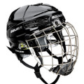 Bauer Re-AKT 75 Hockey Helmet Combo  Game Day Protection  Seven+ Technology™ Foam XRD® Foam Multi-density impact management foam Ergo translucent ear covers CSA,HECC,CE certified Customized Fit  Molded occipital feature Tool-free adjustment Comfort  Comfort fit suspended liner system XRD® Foam inserts treated with MICROBAN® Antimicrobial technology Combo Features  Profile III facemask Stainless steel construction with oval wire for enhanced vision CSA,HECC,CE certified
