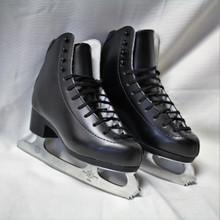 Jacksons DJ2072 Boys Figure Skates (Older Model)  Leather upper Boot. Cur Leather Sole  MK 21 Blade  Discontinued Model
