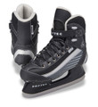 Jackson Softec Sport ST6102 Mens Skates  Comfortably maneuver around the edges of the rink during your next free skate in the Jackson Ultima® Men's Softec Sport Ice Skates. Lined with Thinsulate® to ensure your feet stay warm, the Softec Sport Skates are a great option for simple recreation skating to keep you supported and lightweight with each stride.  Premium Comfort Thinsulate® liner along the upper and tongue retain heat to keep your feet warm Cushioned tongue padding gently rests over the top of your feet for superior comfort Supportive Construction Minimalistic design and synthetic outsole reduces overall weight to support your stride Nylon upper delivers a durable design that reduces potential tears and abrasions Includes a leisure blade with stainless steel runner Additional Details Recreational figure skate Manufacturer's Warranty: 1 year Brand: Jackson Ultima Skates Country of Origin: Imported Style: ST6102