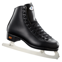 Whether you're hitting the ice for the first time or spending every Friday night at the rink with friends, the model 10/110 recreational ice skate provides stylish comfort and support. Quilted lining cushions your feet for an extra cozy fit, and the split tongue design provides stability where you need it most so your time on the ice is fun-filled!  Highlights:  Reinforced uppers for extra stability Split comfort tongue adds support Quilted man-made lining cushions feet Foam quarter padding provides comfort for all day skating PVC maintenance-free outsoles stand up to the elements Available in black:
