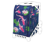 Zuca Inert Bag - Koi  Insert Bag Only - Frames sold Separately  Bag Only - Requires a Zuca Sports Frame  Constructed from 600D Water-Resistant Polyester / Machine & Hand Washable Spacious 1.03 cu. ft. Vinyl Coated Interior Internal Door Compartments - 2 Pockets & Zippered Storage External Zippered Storage - for Documents & Small Accessories
