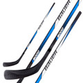 BAUER I2000 Street Hockey Stick • Multi-ply birch shaft • Strong & stiff nylon blade • Good for rough surfaces • ideal for street, dek or ball hockey Height 56 Inchs
