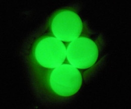 Green Glow In The Dark Ping Pong Balls