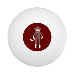 Sock Monkey Ping Pong Ball