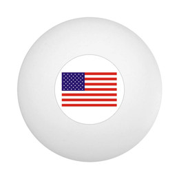 US Flag Ping Pong Ball