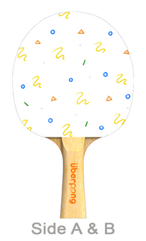 Summer's Game Designer Ping Pong Paddle