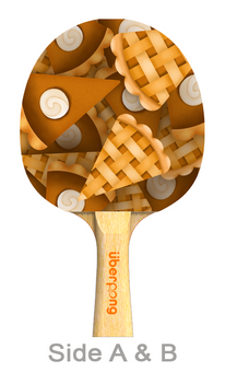Thanksgiving Designer Ping Pong Paddle