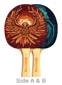Thunderbirds Ping Pong Paddle