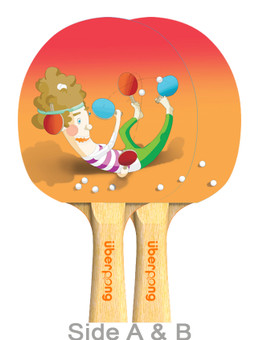 Pongsessed Ping Pong Paddle - Designed by Stefanie Hödlmoser