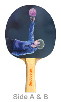 Point and Serve Designer Ping Pong Paddle