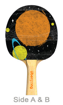 Final Frontier Designer Ping Pong Paddle