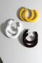 Alice Plastic Hoop Earrings from kellinsilver.com