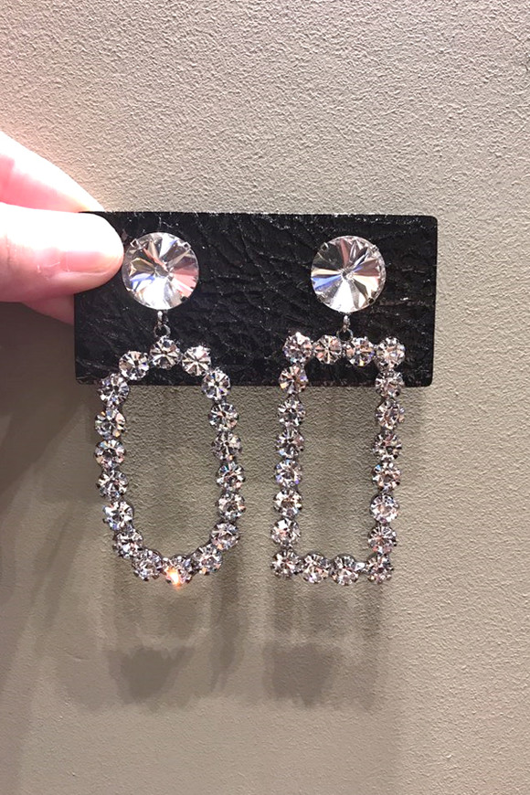 Vintage Jewel Figure Drop Earrings from kellinsilver.com