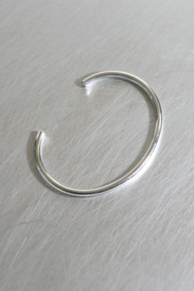 3mm Bold Simple Cuff Bracelet Sterling Silver from kellinsilver.com